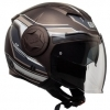CASCO CGM OPEN FACE CHICAGO MARRONE OPACO 129G