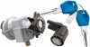 Kit serrature completo per PEUGEOT Speedfight AC/LC 50 (97-98), Trekker 100 (98), X-Fight 100 (00-01)