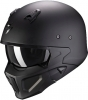 CASCO MOTO SCORPION COVERT-X SOLID MATT BLACK