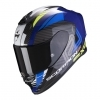 CASCO INTEGRALE SCORPION EXO-R1 AIR HALLEY BLUE-NEON YELLOW